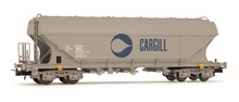 Jouef HO (1:87) - SNCF, flat sided hopper wagon 'Cargill'