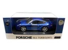 JOY CITY 1:24 - PORSCHE 911 TURBO 997, BLUE