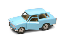 LUCKY DIECAST 1:24 - TRABANT 1963, LIGHT BLUE