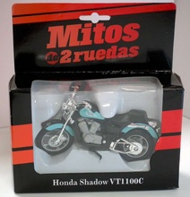 MAGAZINE MODELS 1:18 - HONDA SHADOW VT1100C