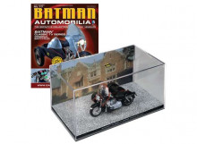 MAGAZINE MODELS 1:43 - BATMAN ORIGINAL BATCYCLE, BATMAN CLASSIC TV SERIES.