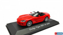 MAGAZINE MODELS 1:43 - DODGE VIPER SRT 2003, RED