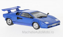 MAGAZINE MODELS 1:43 - LAMBORGHINI COUNTACH LP 400 S, BLUE