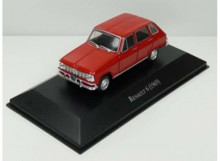 MAGAZINE MODELS 1:43 - RENAULT 6 1969, RED