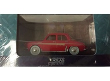 MAGAZINE MODELS 1:43 - RENAULT DAUPHINE, RED