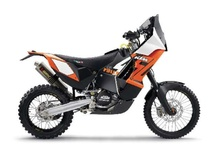MAISTO 1:18 - KTM CYCLE 450 RALLY, ORANGE