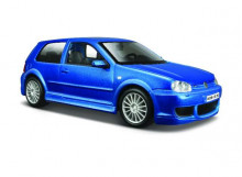 MAISTO 1:24 - VOLKSWAGEN GOLF 4 R32, METALLIC BLUE