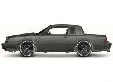 MAISTO 1:64 - BUICK GRAND NATIONAL 1987, GREY