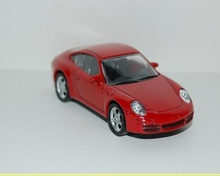 NOREV 1:64 - PORCHE 997 CARRERA S, RED