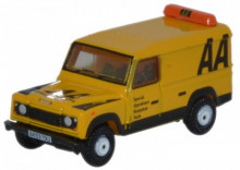 OXFORD 1:148 - LAND ROVER DEFENDER LWB HARD TOP AA, YELLOW