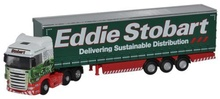 OXFORD 1:148 - SCANIA SCANIA TOPLINE C/SIDE - STOBART