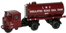 OXFORD 1:76 (00) - LMS Mechanical Horse Tank Trailer
