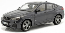 PARAGON 1:18 - BMW X4 (F26) 2015, DARK GREY