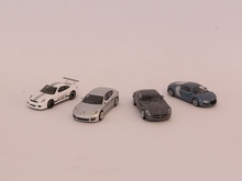 SCHUCO #1:87 - SET WITH 4 CARS (25894)