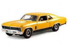 SIGNATURE MODELS 1:32 - CHEVROLET NOVA 1969, YELLOW