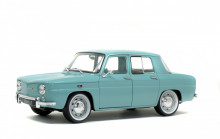 SOLIDO 1:18 - RENAULT R8 MAJOR 1967, LIGHT BLUE