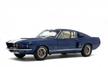 SOLIDO 1:18 - SHELBY GT500 1967, NIGHTMIST BLUE