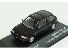 TRIPLE 9 1:43 - HONDA CIVIC 1987, BLACK