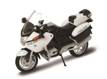 WELLY 1:18 - BMW R1200 RT 'POLICE', WHITE