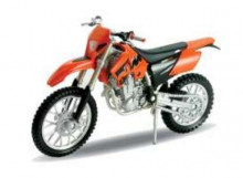 WELLY 1:18 - KTM 525 EXC, ORANGE
