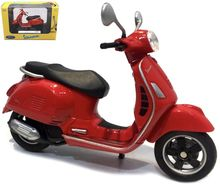 WELLY 1:18 - VESPA GTS 125CC 2017, RED