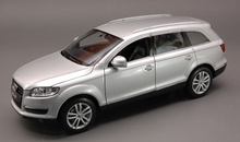 WELLY 1:24 - AUDI Q 7 2006 SILVER
