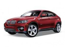 WELLY 1:24 - BMW X6 2009, RED
