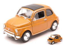 WELLY 1:24 - FIAT 500 L 1968 OCHRE