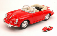 WELLY 1:24 - PORSCHE 356B 1958 RED