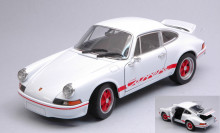 WELLY 1:24 - PORSCHE 911 CARRERA RS 2.7 WHITE/RED