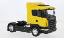 WELLY 1:32 - SCANIA R470, YELLOW