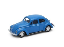 WELLY 1:43 - VOLKSWAGEN BEETLE, BLUE