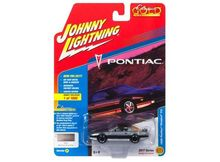 JOHNNY LIGHTNING 1:64 - PONTIAC TRANS AM FIREBIRD 1985, GREY