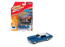 JOHNNY LIGHTNING 1:64 - CHEVROLET MONTE CARLO SS 1971, BLUE