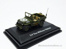 CARARAMA 1:72 - JEEP CJ-5 1/4 TON US ARMY 1944