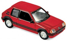 NOREV 1:87 - PEUGEOT 205 GTI 1.9 1987, RED