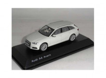DEALER MODEL 1:43 - AUDI A4 AVANT 2018, GLACIER WHITE