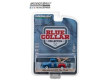 GREENLIGHT 1:64 - 1956 FORD F-100 TOW TRUCK 'MELS GARAGE GULF OIL' BLUE COLLAR COLLECTION SERIES 4