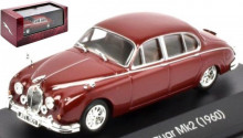 ATLAS 1:43 - JAGUAR MK2 1960, DARK RED