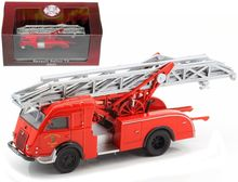 ATLAS 1:72 - RENAULT DL 18 GALION T2 FIRE TRUCK, RED