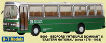 BASE TOYS MODELS 1:76 - DUPLE DOMINANT II COACH - EASTERN NATIONAL