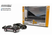 GREENLIGHT 1:64 - 1978 CHEVROLET CORVETTE 1978 & CHEVROLET CORVETTE 2008 INDIANAPOLIS 500 PACE CAR SET.