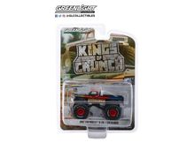 GREENLIGHT 1:64 - CHEVROLET K20 SILVERADO 1987 MONSTER TRUCK EXCALIBER *KINGS OF CRUNCH SERIES 5*, BLACK