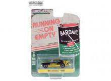 GREENLIGHT 1:64 - CHEVROLET NOVA 1972 BARDAHL *RUNNING ON EMPTY SERIES 11*, BLACK/YELLOW