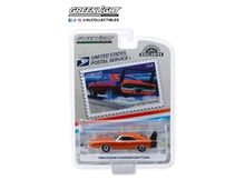 GREENLIGHT 1:64 - DODGE CHARGER DAYTONA 1969 UNITED STATES POSTAL SERVICE (USPS) AMERICA ON THE MOVE: MUSCLE C