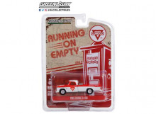 GREENLIGHT 1:64 - DODGE D-100 1965 CONOCO ROADSIDE SERVICE *RUNNING ON EMPTY SERIES 12*, WHITE/RED