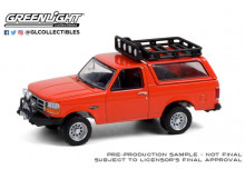 GREENLIGHT 1:64 - FORD BRONCO SPORT 1995 WITH OFFROAD PARTS *ALL TERRAIN COLLECTION SERIES 11*, ORANGE