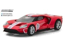 GREENLIGHT 1:64 - FORD GT 2017, 1967 #1 FORD GT40 MK.IV TRIBUTE 'FORD GT RACING HERITAGE SERIES 1' RED/WHITE