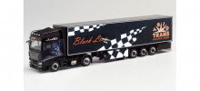 "HERPA 1:87 - MAN TGX XXL refrigerated box trailer ""Trio-Trans / Black Lion"""