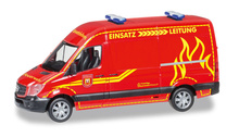 "HERPA 1:87 - Mercedes-Benz sprinter high roof ""Feuerwehr Wilsdruff"""